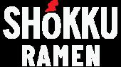 Shokku Ramen Logo White Version